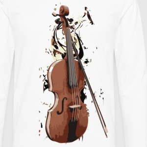 Violin - Men's Premium Long Sleeve T-Shirt
