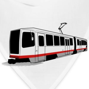 San Francisco Muni Train T-shirt - Bandana