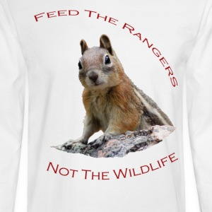 Feed The Rangers - Men's Long Sleeve T-Shirt