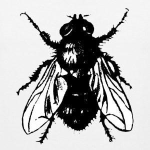 Insect T-Shirts The Fly - Men's Premium Tank