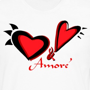 Amore' Men's T - Men's Premium Long Sleeve T-Shirt