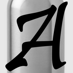 fancyfont_letter_a T-Shirts - Water Bottle