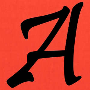 fancyfont_letter_a T-Shirts - Tote Bag
