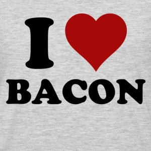 I HEART BACON T-Shirts - Men's Premium Long Sleeve T-Shirt