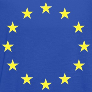 European Union Flag T-shirt - Women's Flowy Tank Top by Bella