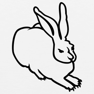 White rabbit (AD, 1c) T-Shirts - Men's Premium Tank