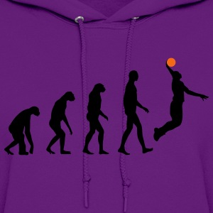 Evolution Basketball T-Shirts - Women's Hoodie