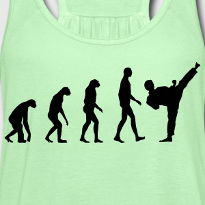 Evolution Material Arts T-Shirts - Women's Flowy Tank Top by Bella
