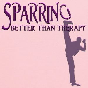 SPARRING: Better Than Therapy (male) - Kids' Hoodie