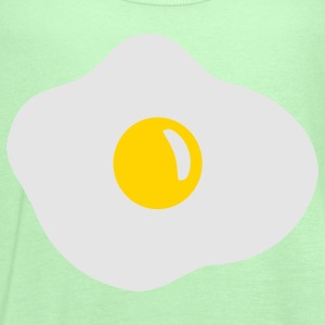 Kelly green Fried egg Kids' Shirts - Women's Flowy Tank Top by Bella