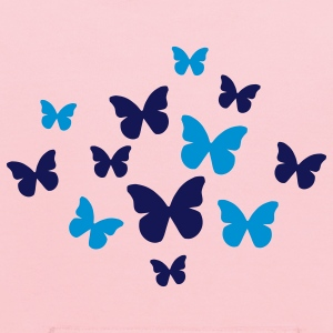 Yellow Butterflies Kids' Shirts - Kids' Hoodie