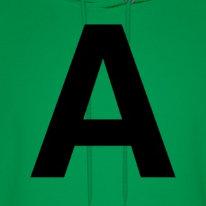 helvetica letter A T-Shirts - Men's Hoodie