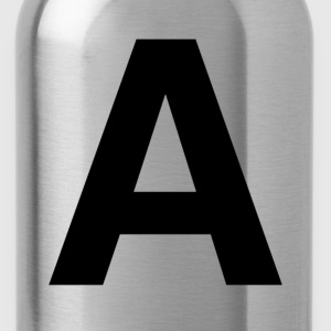 helvetica letter A T-Shirts - Water Bottle