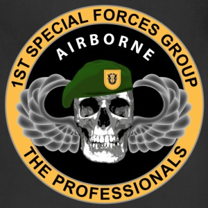 1st Special Forces Group - Skull - Adjustable Apron