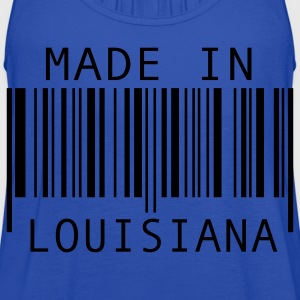 Turquoise Made in Louisiana Kids' Shirts - Women's Flowy Tank Top by Bella