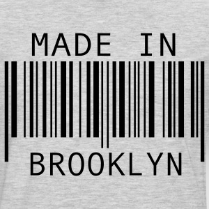 Heather grey Made in Brooklyn T-Shirts - Men's Premium Long Sleeve T-Shirt