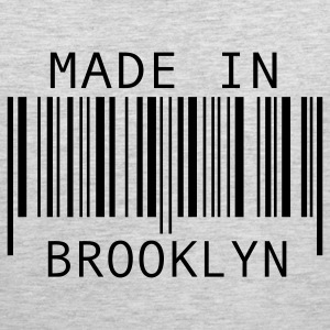 Heather grey Made in Brooklyn T-Shirts - Men's Premium Tank