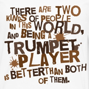 2 Kinds Of People Trumpet T-shirt - Men's Premium Long Sleeve T-Shirt