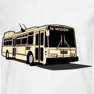 14 Mission Muni Bus T-shirt - Men's Long Sleeve T-Shirt