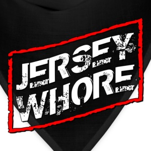 Black Jersey Shore Whore T-Shirts - Bandana