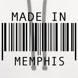 Made in Memphis T-Shirts - Contrast Hoodie