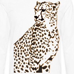 Faster than a Cheetah's Stare - Men's Premium Long Sleeve T-Shirt