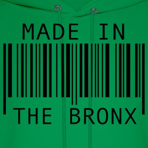Kelly green Made in The Bronx Kids' Shirts - Men's Hoodie