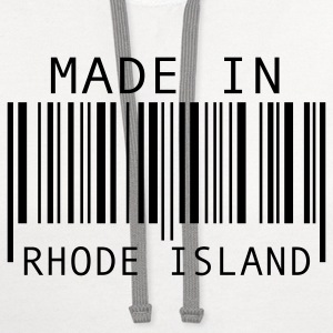 Made in Rhode Island T-Shirts - Contrast Hoodie