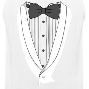 Fake Dinner Jacket T-shirt - Men's Premium Tank