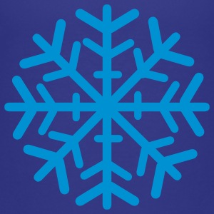 Royal blue Snowflake Kids' Shirts - Toddler Premium T-Shirt