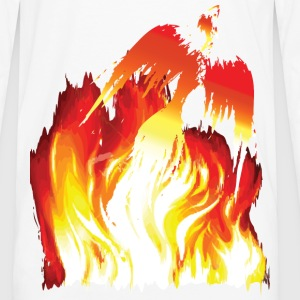 Phoenix Flame - Men's Premium Long Sleeve T-Shirt