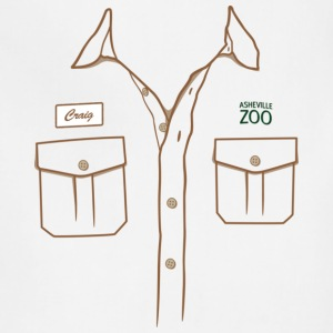 Zookeeper Shirt T-shirt - Adjustable Apron