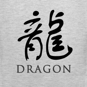 Ash dragon - Chinese T-Shirts - Men's Premium Tank