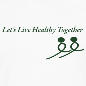 Healthy Together - Men's Premium Long Sleeve T-Shirt
