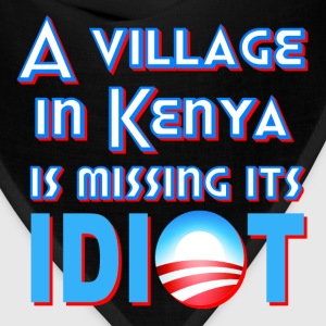 Hot pink A Village in Kenya is Missing its Idiot Obama Kids' Shirts - Bandana
