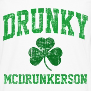Drunky McDrunkerson T-Shirts - Men's Premium Long Sleeve T-Shirt