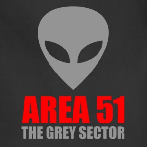 Area 51 Grey Alien - Adjustable Apron