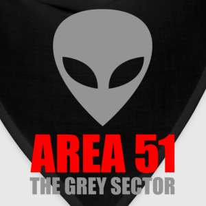 Area 51 Grey Alien - Bandana