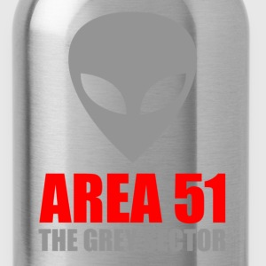 Area 51 Grey Alien - Water Bottle