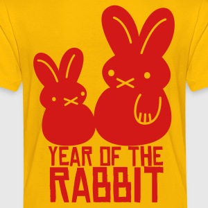 year of the rabbit bunny cute NEW YEAR Kids' Shirts - Toddler Premium T-Shirt