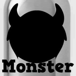monster with horns Kids' Shirts - Water Bottle