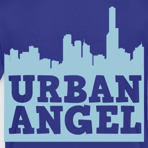 urban angel city scape with text  Kids' Shirts - Toddler Premium T-Shirt