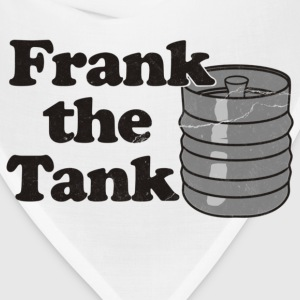 Frank the Tank Old School Toddler Shirts - Bandana