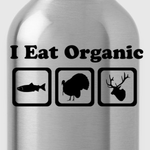Eat Organic Animals T-Shirts - Water Bottle