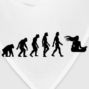 Evolution Zen (1c) T-Shirts - Bandana