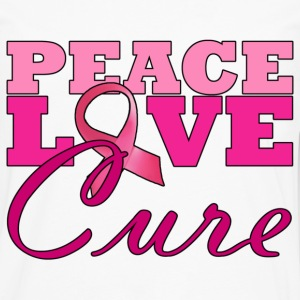 Peace, Love & The Cure T-Shirts - Men's Premium Long Sleeve T-Shirt