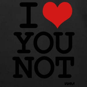 i love you not by wam T-Shirts - Eco-Friendly Cotton Tote