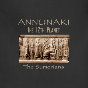 Annunaki 12th Planet - Adjustable Apron