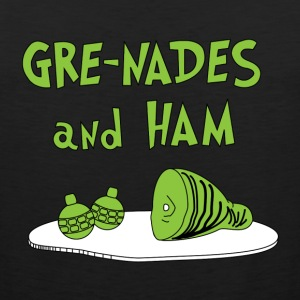 Gre-nades and Ham T-Shirts - Men's Premium Tank