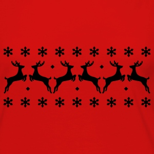 Christmas Pullover - Reindeer T-Shirts - Women's Premium Long Sleeve T-Shirt